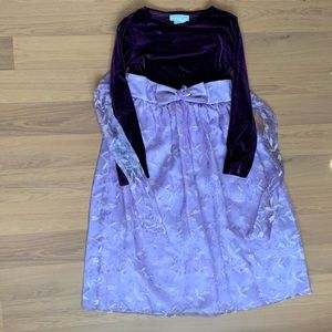 Size 12 Chantilly Place Purple Formal Dress